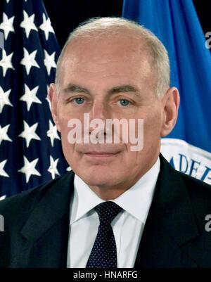 John Francis Kelly United States Secretary of Homeland Security - Stock Photo