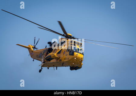 RAF Sea king at the Swansea Airshow in 2011 - Stock Photo