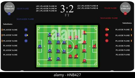 Infographic Ideas infographic soccer : Infographic Soccer Match. Football Championship Flyer. Sports ...