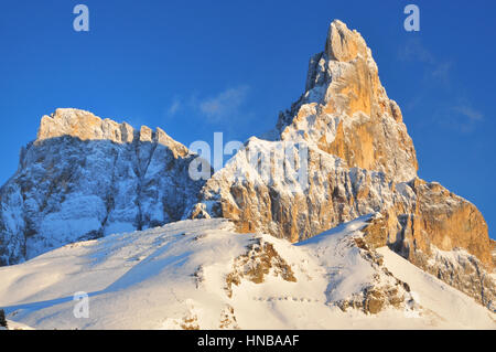 San Martino Passo Rolle Dolomiti Alps Italy - Stock Photo
