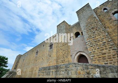 Castello di Lagopesole castle, Basilicata, Italy - Stock Photo