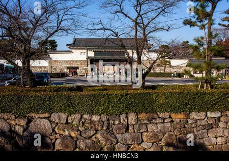 Nijo castle,UNESCO World Heritage Site,Kyoto, Japan. - Stock Photo