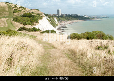 Eastbourne seafront, East Sussex, England, United Kingdom - Stock Photo