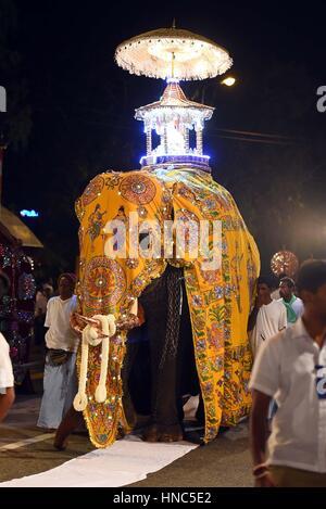 Navam Perahera Buddhist Festival, Colombo, Sri Lanka Stock ...