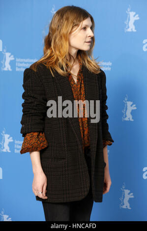 Berlin, Germany. 11th Feb, 2017. Clemence Poesy during the 'Final Portrait' photocall at the 67th Berlin International - Stock Photo