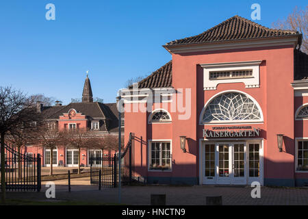 Germany, North Rhine-Westphalia, Ruhr area, Oberhausen, the castle. - Stock Photo