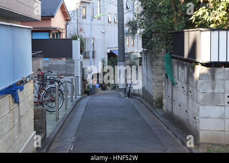 Japanese street - Stock Photo