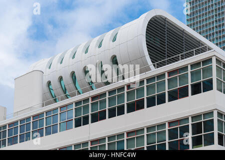 modern office building on the south head of rotterdam - Stock Photo