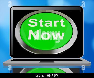 Start Now Green Green