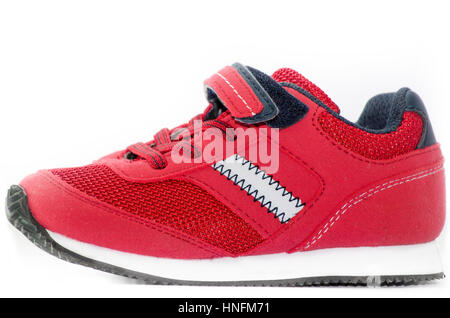 Red Casual Shoe - Stock Photo