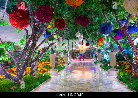 ... The The Interior Of Wynn Hotel And Casino In Las Vegas. The Hotel Has  2,716