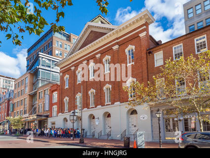 Ford's Theatre, site of the assassination of President Abraham Lincoln, 10th St NW, Washington DC, USA - Stock Photo