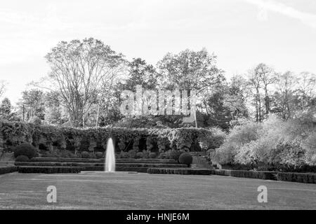 The conservatory Garden was located in central park was open to the public in 1937 - Stock Photo