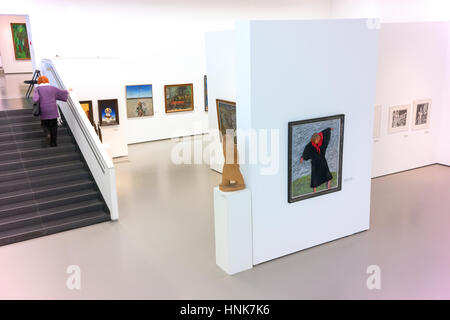 Interior of the National Gallery of Art, Vilnius - Stock Photo