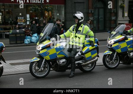 Police Motocycle - Stock Photo