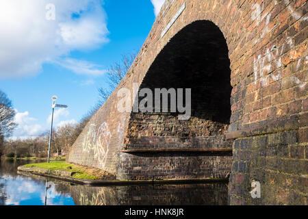 Beautiful Birmingham Canal View - Stock Photo