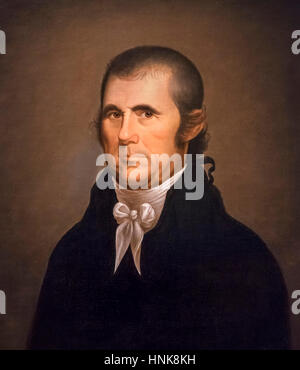 John Marshall (1755-1835) by Cephas Thompson, oil on canvas, c.1809-10. Portrait of the fourth Chief Justice of - Stock Photo