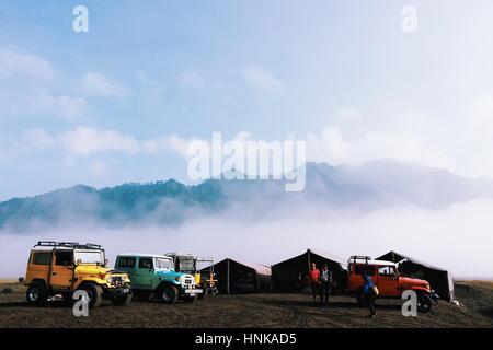 Morning In Bromo National Park - Stock Photo