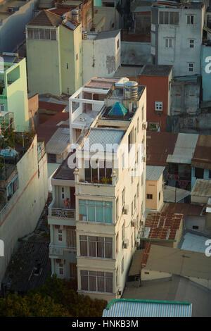 ... Narrow apartments, District One, Ho Chi Minh City (Saigon), Vietnam -