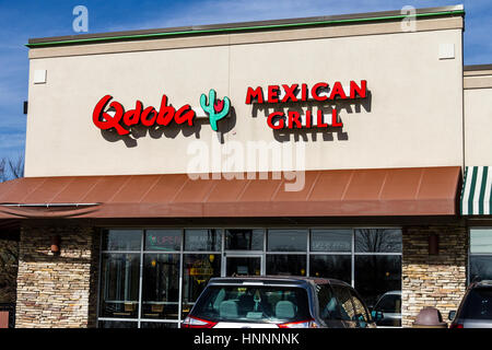 Indianapolis - Circa February 2017: Walgreens Retail Location. Walgreens is an American Pharmaceutical Company IX - Stock Photo