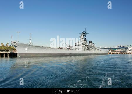USS Monterey (CG-61) - Stock Photo