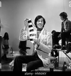Disco, Musiksendung, Deutschland 1971 - 1982, Moderator Ilja Richter - Stock Photo