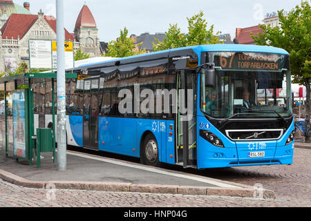 Finland Bus Stop