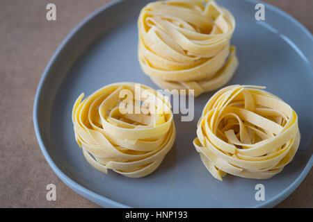 Tagliatelle - Stock Photo
