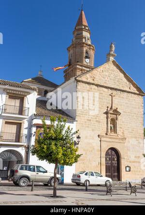 Benamejí, Cordoba Province, Andalusia, Spain. Church of the Immaculate Conception, Iglesia de la Inmaculada Concepción. - Stock Photo