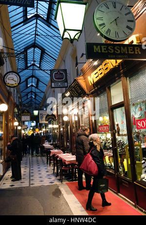 Passage Verdeau, France, Paris - Stock Photo