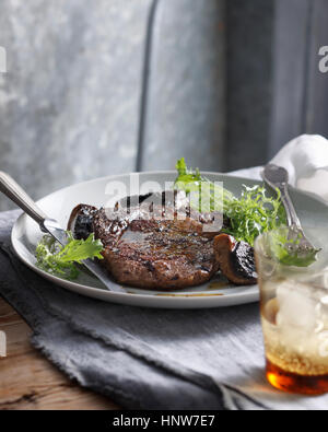 Steak Au Poivre - Stock Photo