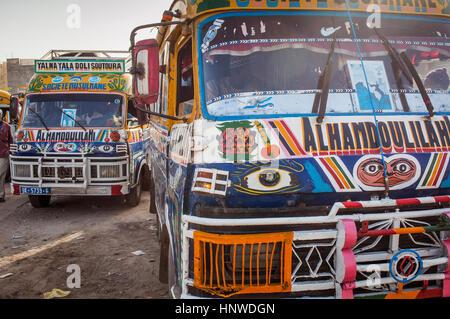 Traditional public transport bus, Dakar, Senegal