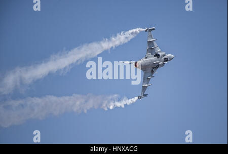 SAAB Gripen Fighter Jet - Stock Photo