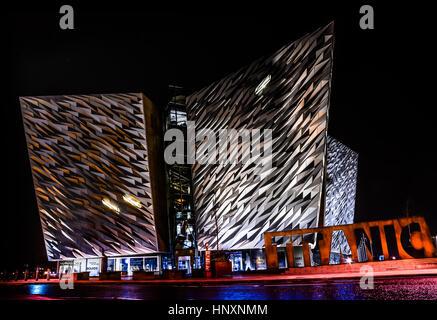 Titanic Experience, Belfast - Stock Photo