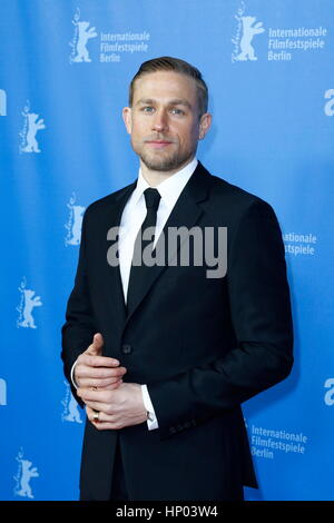 Berlin, Germany, 14th FEB, 2017. Charlie Hunnam attending the 'The Lost City Of Z' Premiere during 67th Berlinale - Stock Photo