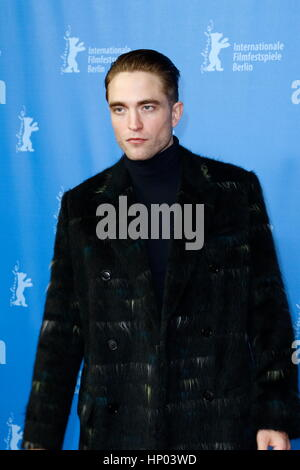 Berlin, Germany, 14th FEB, 2017. Robert Pattinson attending the 'The Lost City Of Z' Premiere during 67th Berlinale - Stock Photo