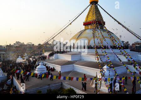 Bouddhanath - Stock Photo