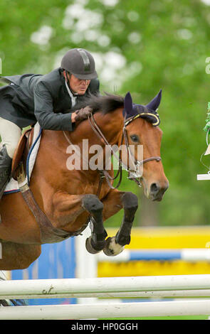 The National, Spruce Meadows, June 2001, Akita Drilling Cup - Stock Photo