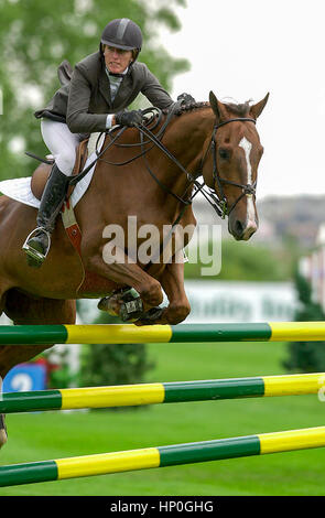The National, Spruce Meadows, June 2001, Aon Reed Stenhouse Cup - Stock Photo