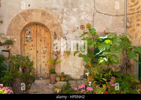 door in tuscany - Stock Photo