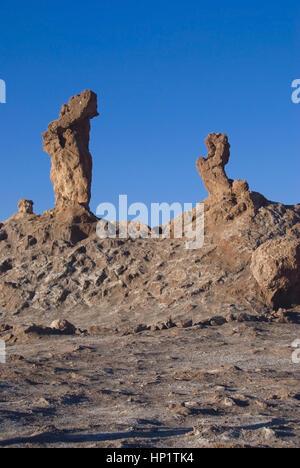 Valle de la Luna, Tal des Mondes, Atacamawueste, Chile, Suedamerika - Valle de la luna, Atacama Desert, Chile, Soth - Stock Photo