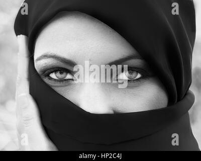 Muslim woman - Stock Photo