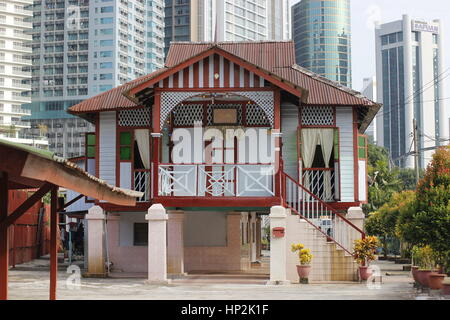 Traditional Wooden House At Malaysia Stock Photo Royalty