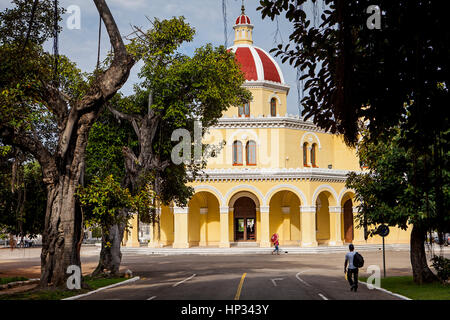 Chapel, in Cementerio Cristobal Colon, Colon Cemetery, La Habana, Cuba - Stock Photo