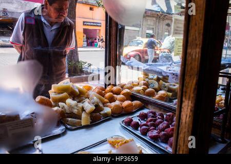 Dulceria Celaya, pastry or cake shop, 39 Cinco de Mayo street,  Mexico City, Mexico - Stock Photo