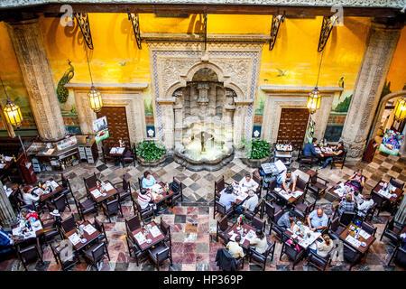 Casa de los azulejos house of tiles restaurant mexico for Casa de los azulejos mexico df