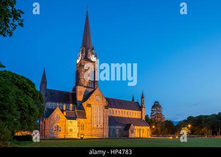 St Mary's Cathedral, Killarney, Kerry, Ireland, Europe. - Stock Photo