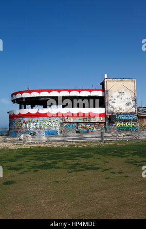 dolphinarium discotheque massacre site, tel aviv, israel. on 1 june 2001 a suicide bomber killed 21 israelis - Stock Photo
