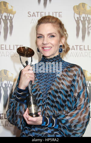 Century City, California, USA. 18th February, 2017. Rhea Seehorn  02/18/2017 The 21st Annual Satellite Awards held - Stock Photo