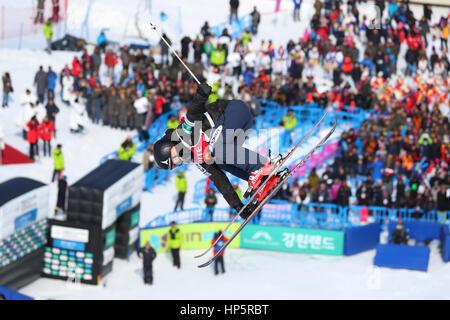 Bokwang Phoenix Park, PyeongChang, South Korea. 18th Feb, 2017. Ayana Onozuka (JPN), FEBRUARY 18, 2017 - Freestyle - Stock Photo